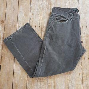 BANANA REPUBLIC Corduroy Gray Pants Men's 34x30